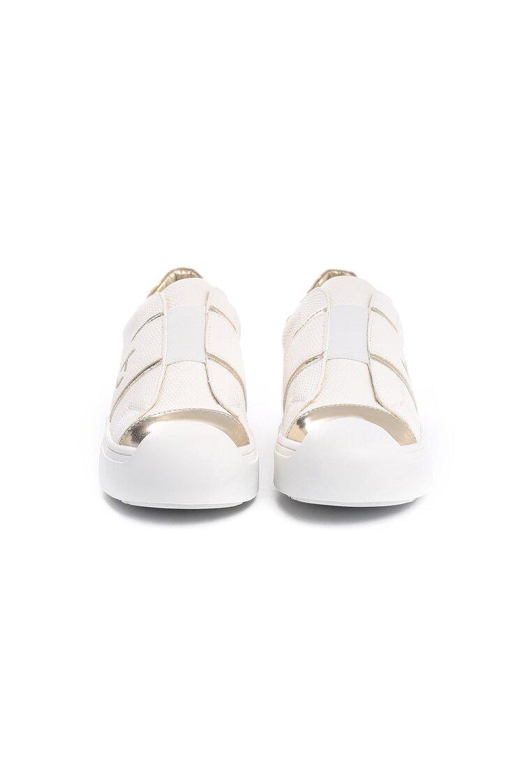 Białe Buty Sportowe Yoko