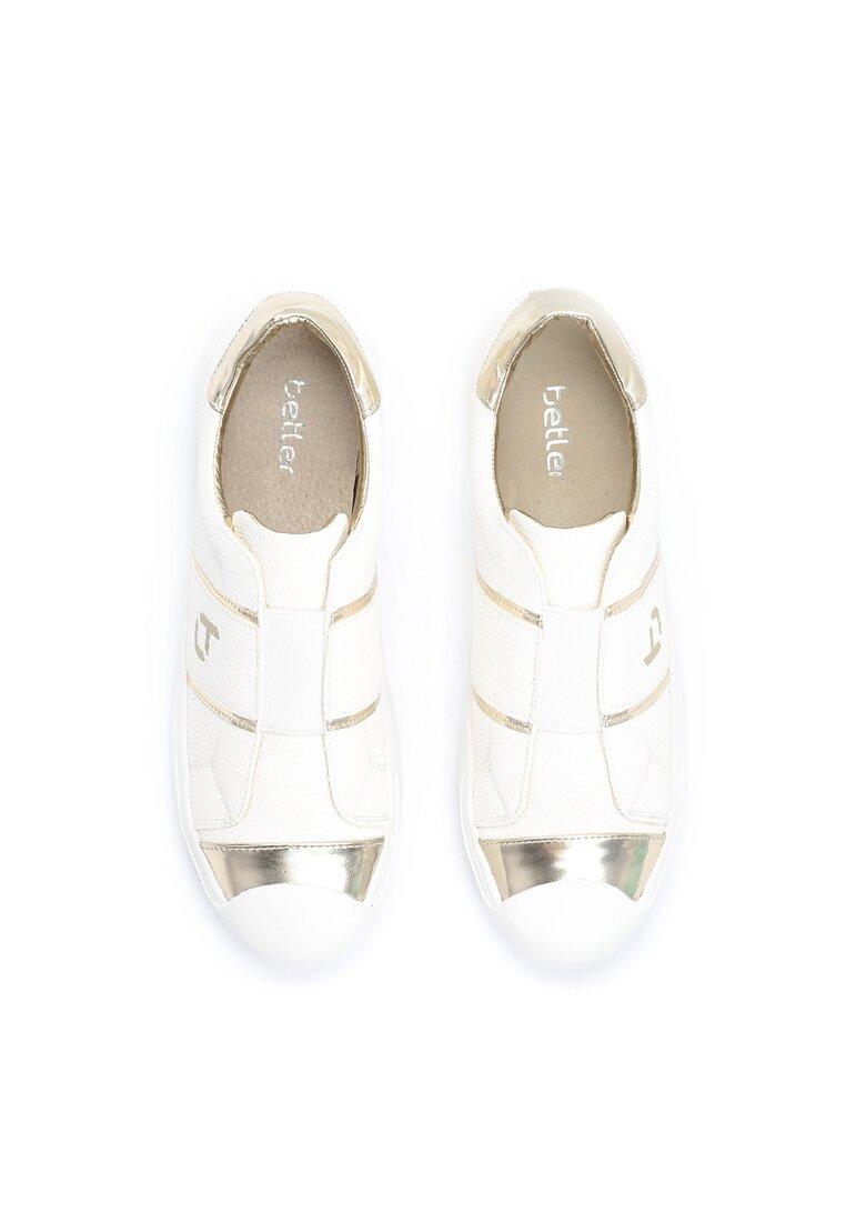 Białe Buty Sportowe Liberty