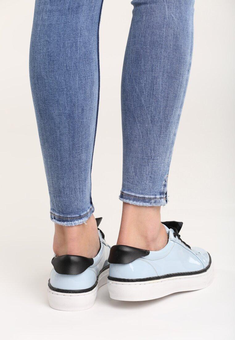 Jasnoniebieskie Buty Sportowe Daimond