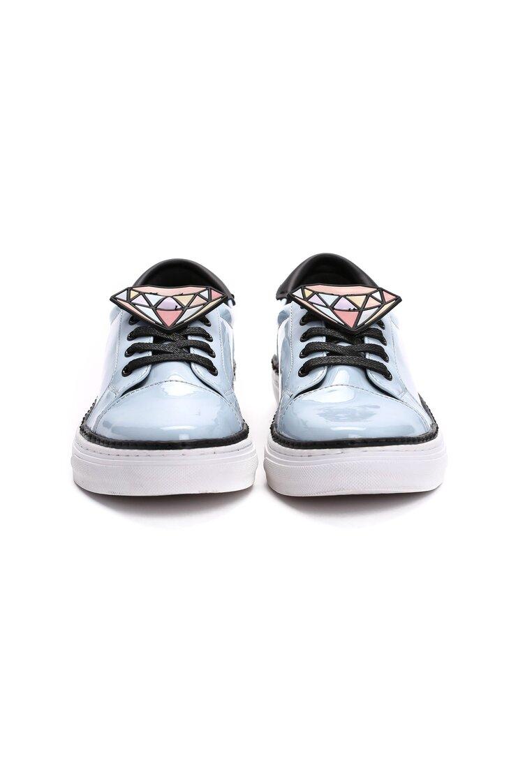 Jasnoniebieskie Buty Sportowe Grey Think