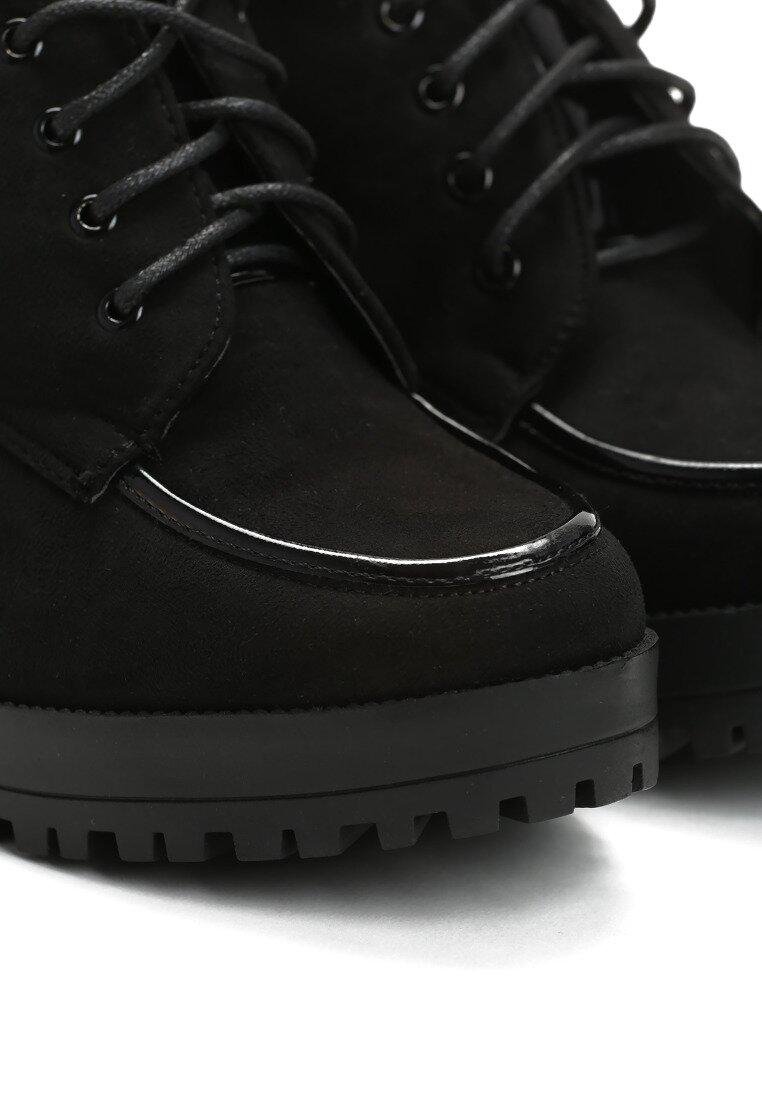 Czarne Półbuty Coltsfoot
