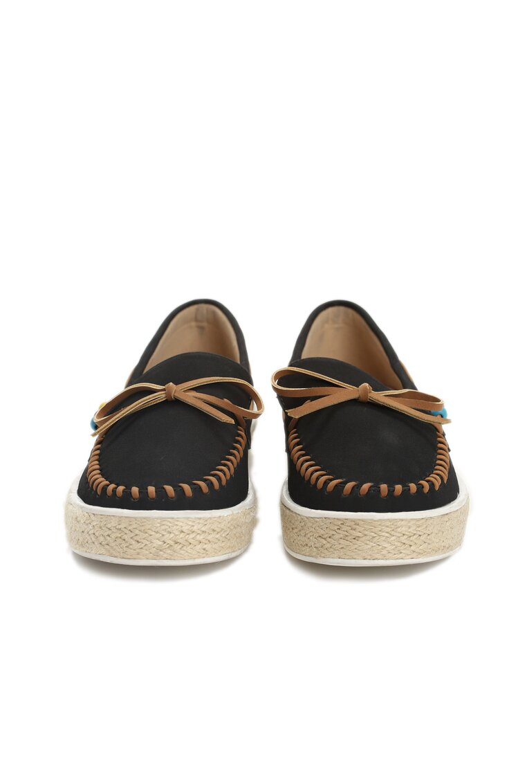 Czarne Espadryle Blend Together