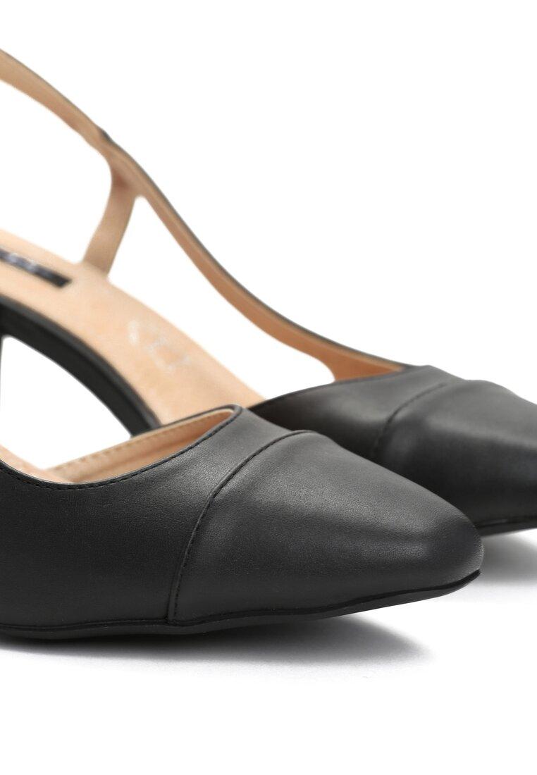 Czarne Sandały Selaut