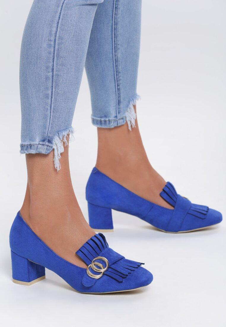 Niebieskie Czółenka Nigella