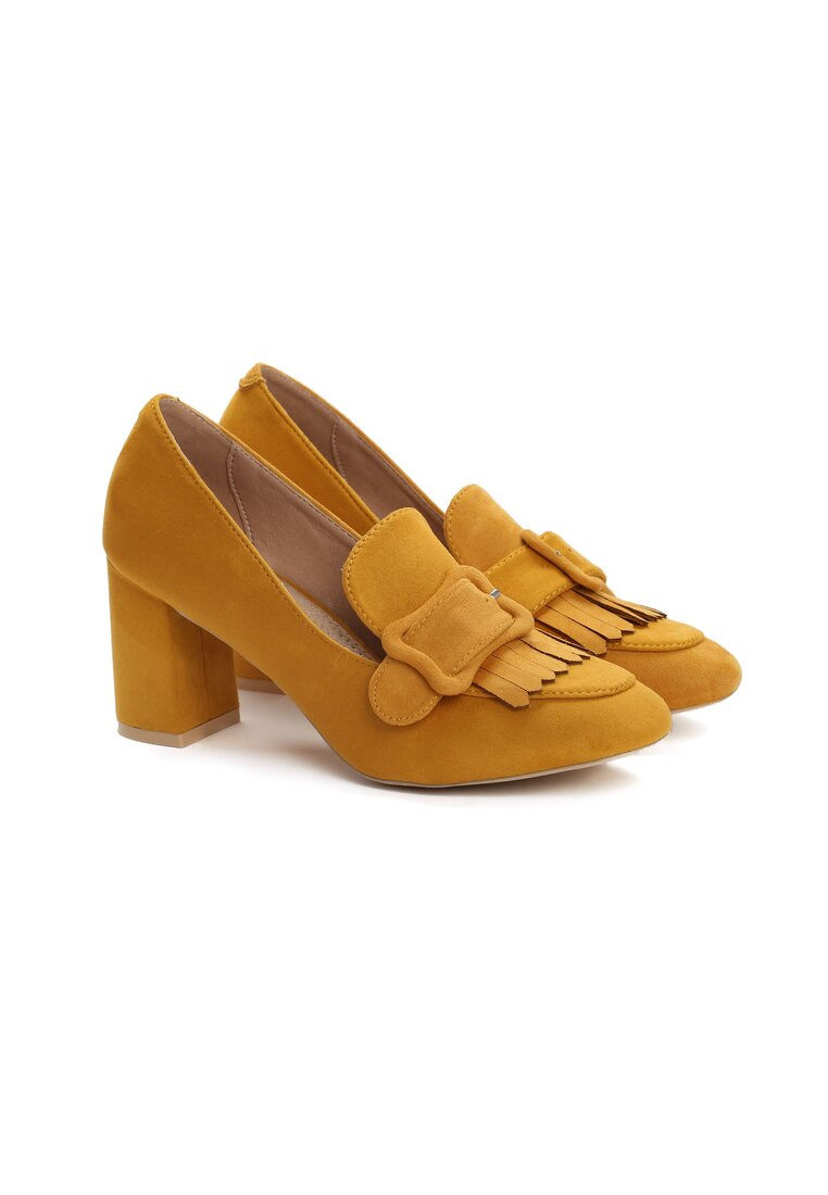 Żółte Czółenka Turmeric