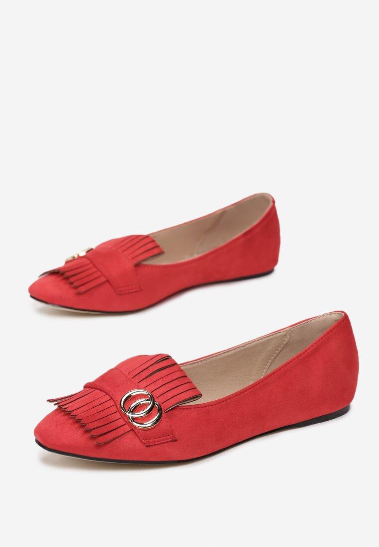 Czerwone Mokasyny Saffron