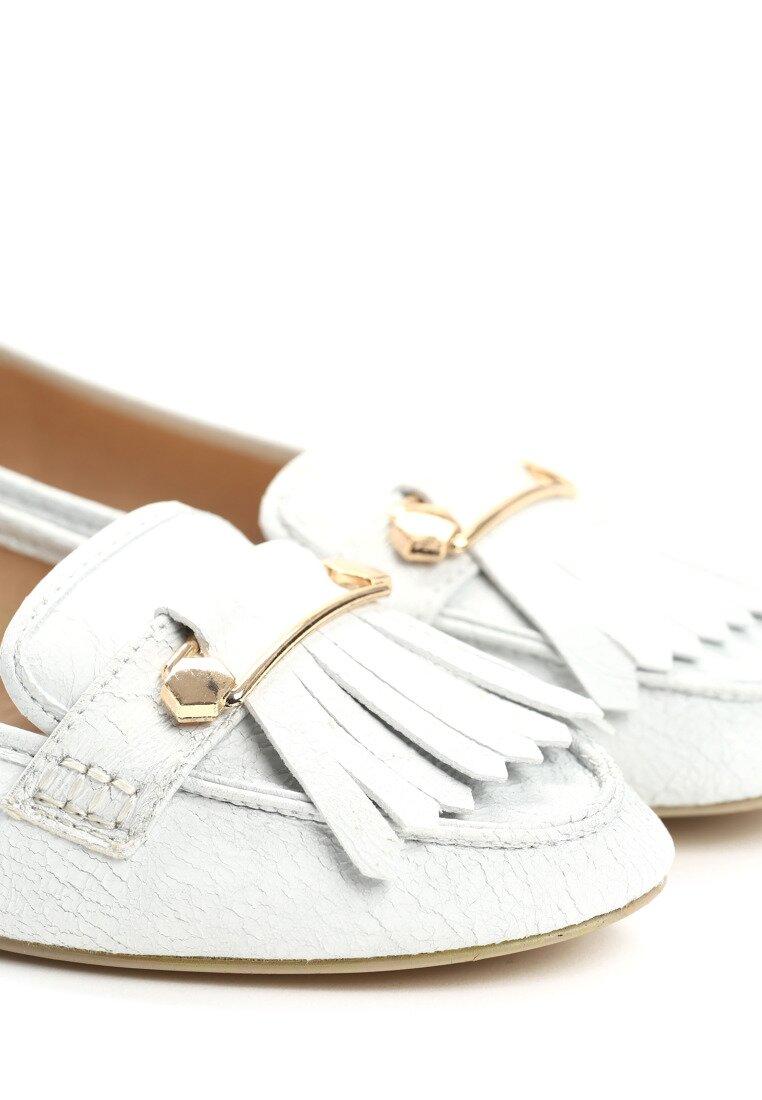 Białe Mokasyny Tattersall