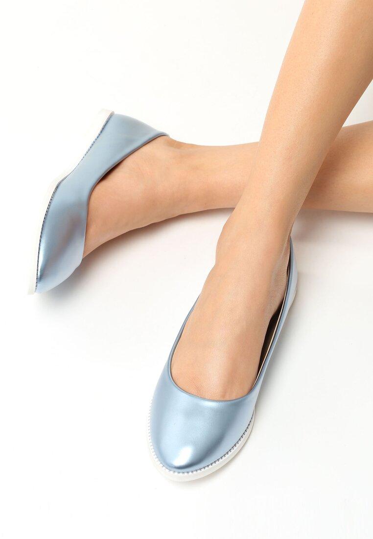 Niebieskie Baleriny Amber Star