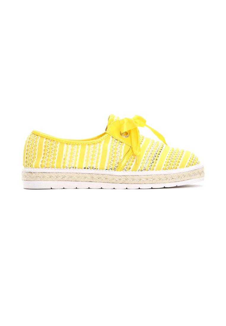 Żółte Espadryle Americanos
