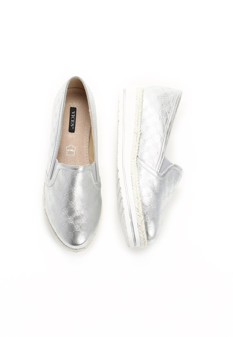Srebrne Slip On Essential Flavour