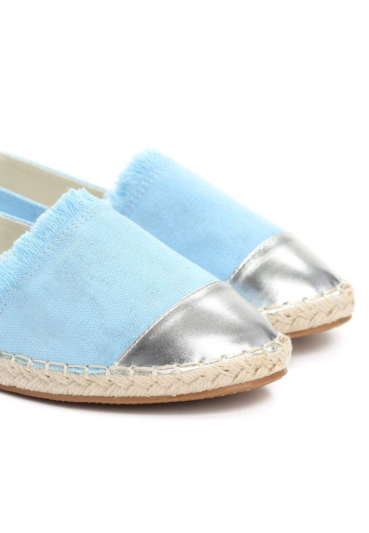 Błękitne Espadryle Acante