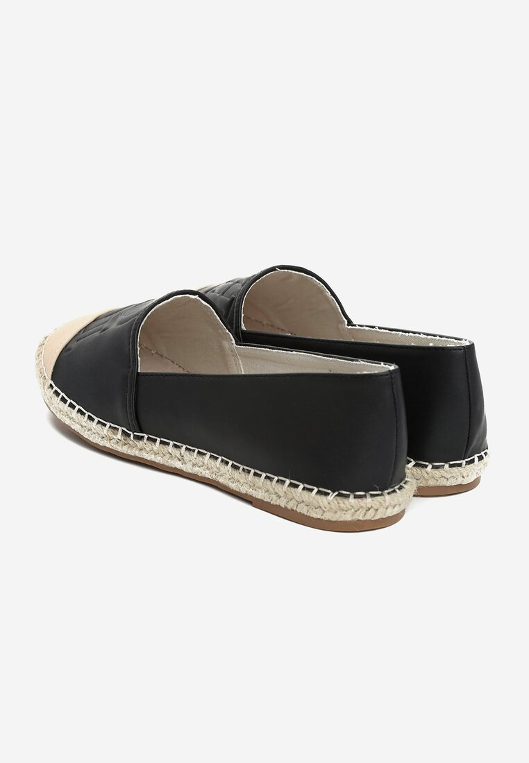Czarne Espadryle Bring It Home