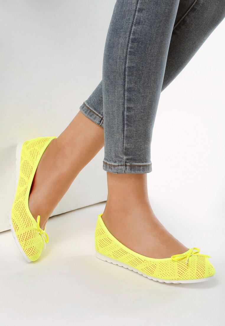 Żółte Balerinki Parvi
