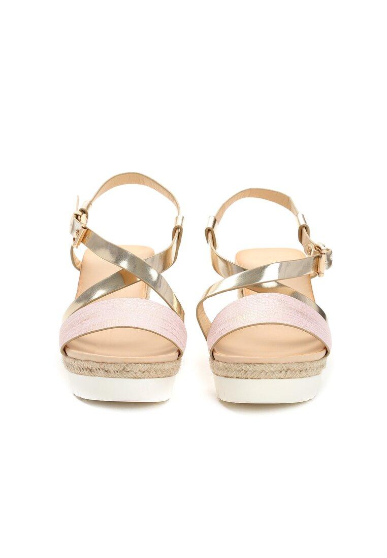 Różowe Sandały Chosen