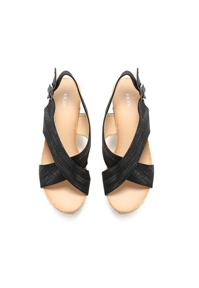 Czarne Sandały Appreciated