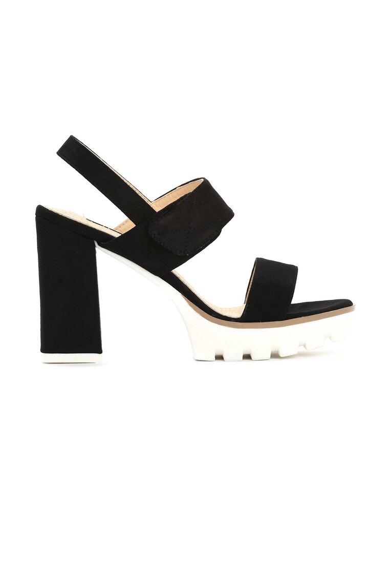 Czarne Sandały Uptown Girl