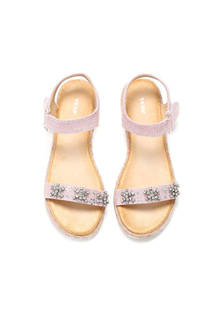 Różowe Sandały Fernweh