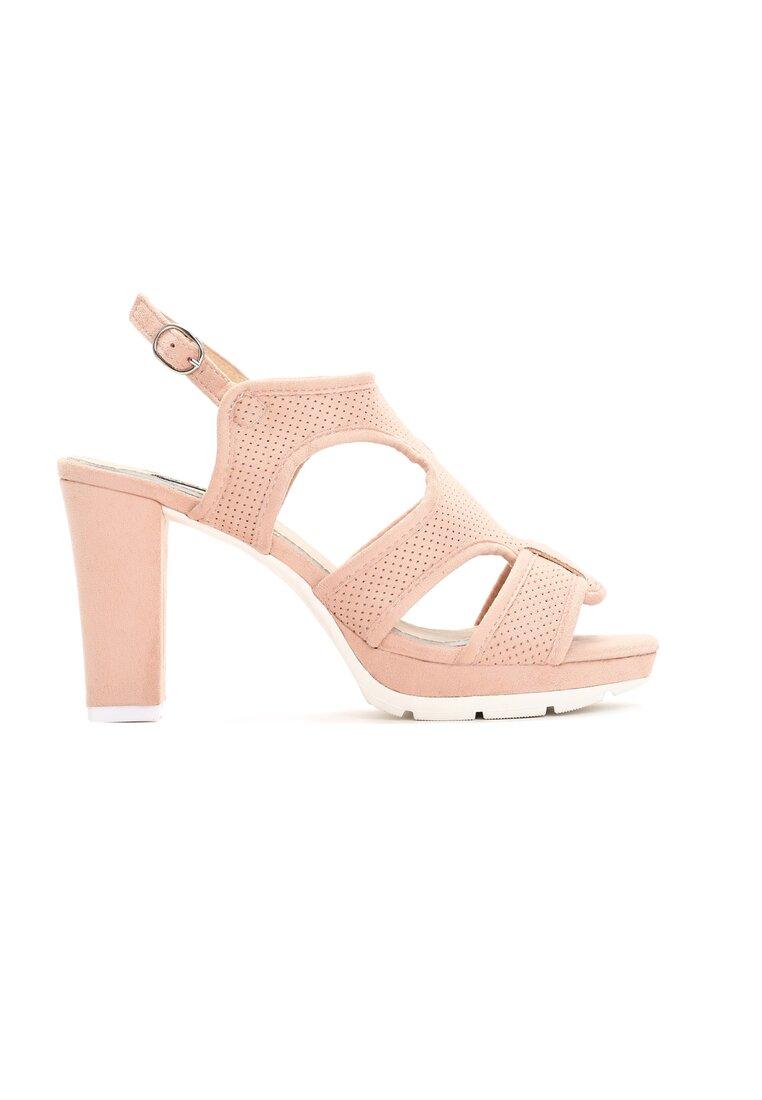 Różowe Sandały Succumb