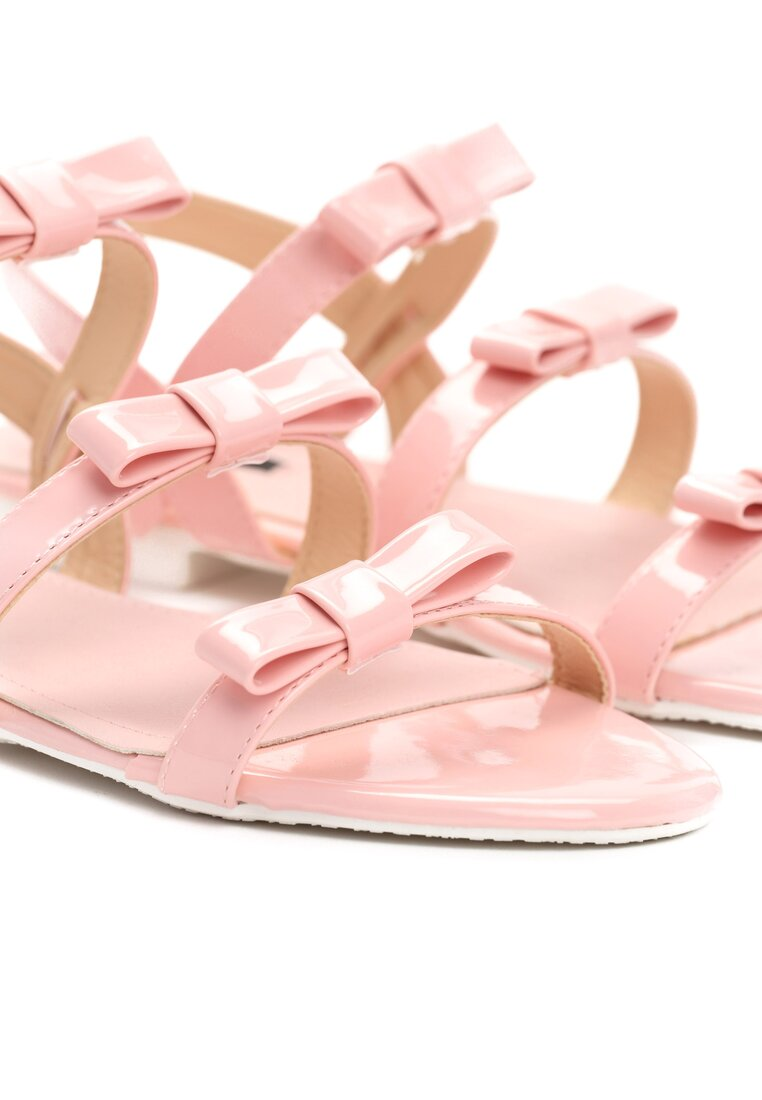 Różowe Sandały Little Rock