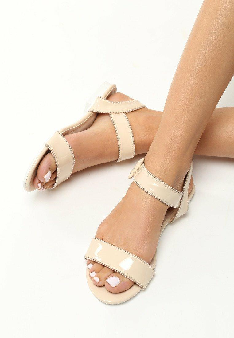 Beżowe Sandały Lucky Strike