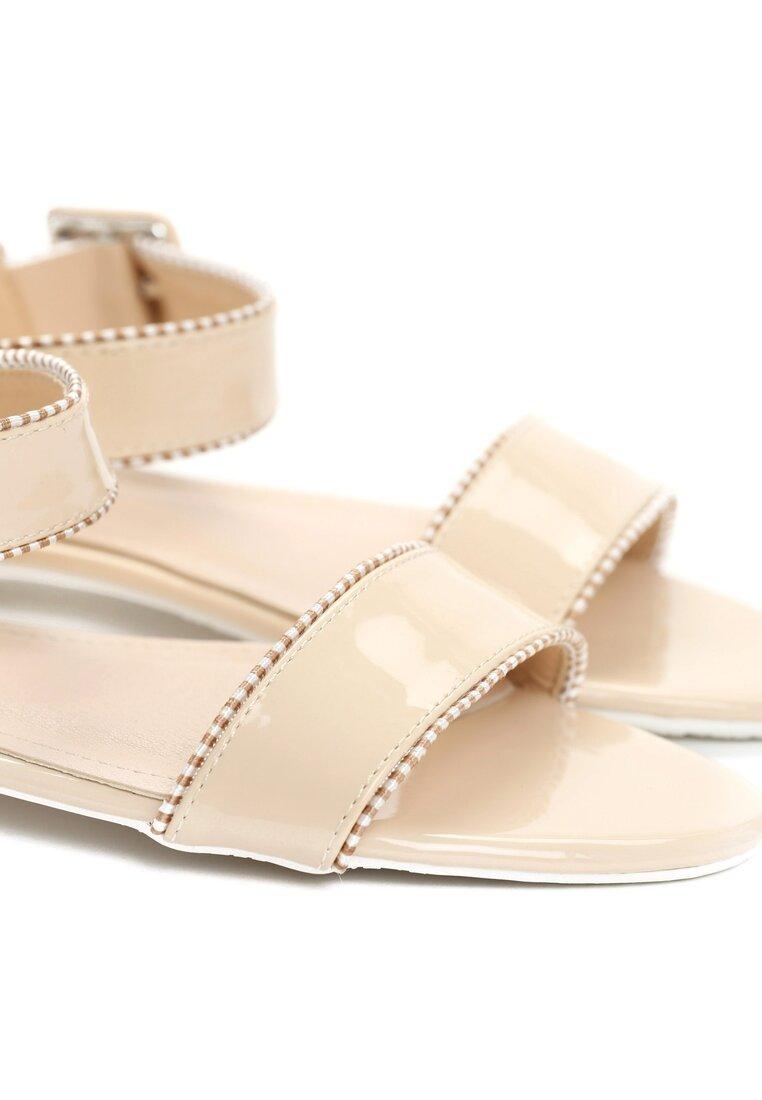 Beżowe Sandały Lagom