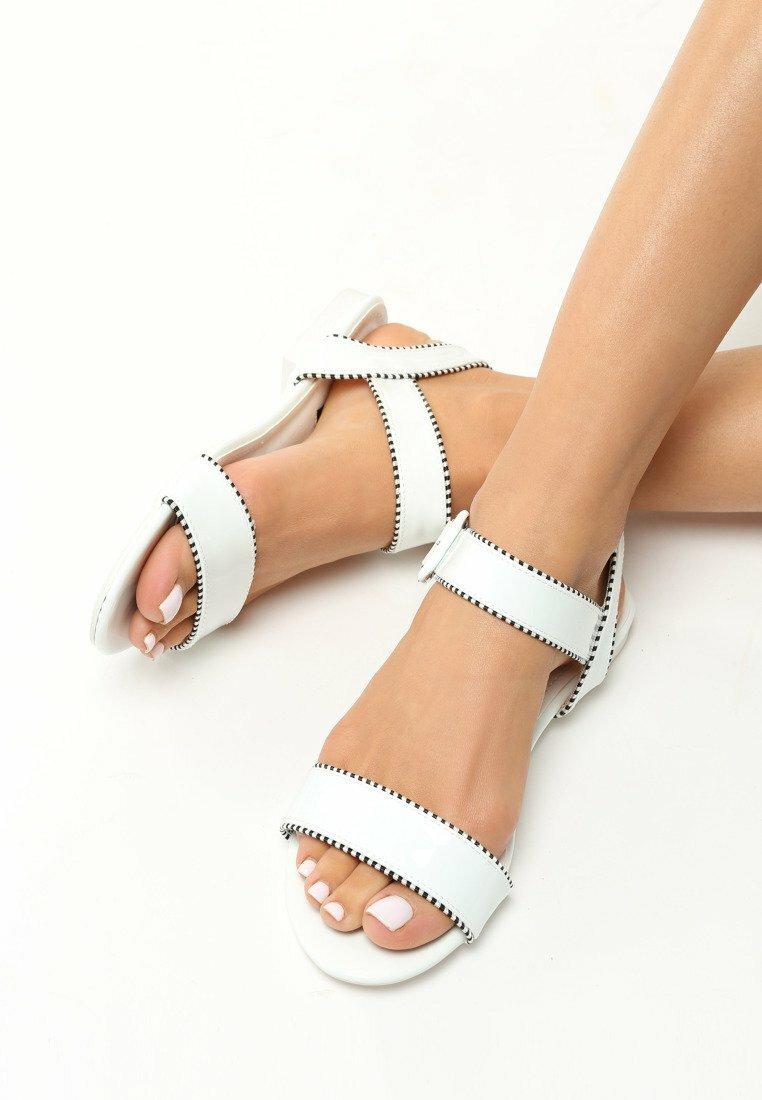 Białe Sandały Lagom