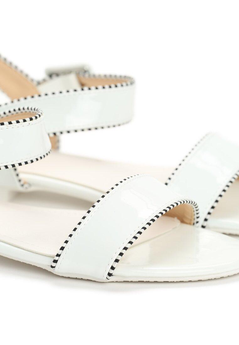 Białe Sandały Lucky Strike
