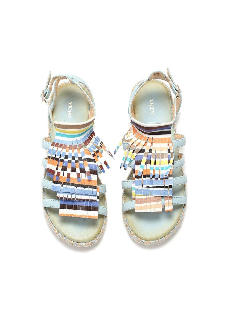 Niebieskie Sandały Dismantle