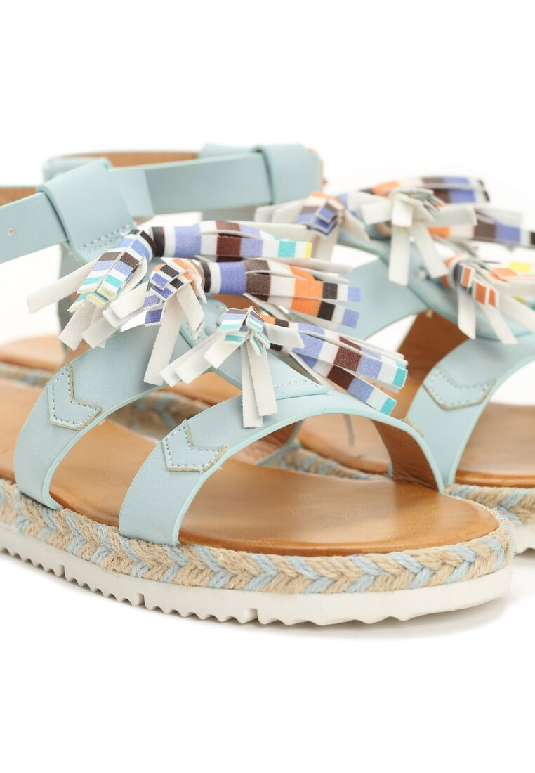 Niebieskie Sandały Aurora