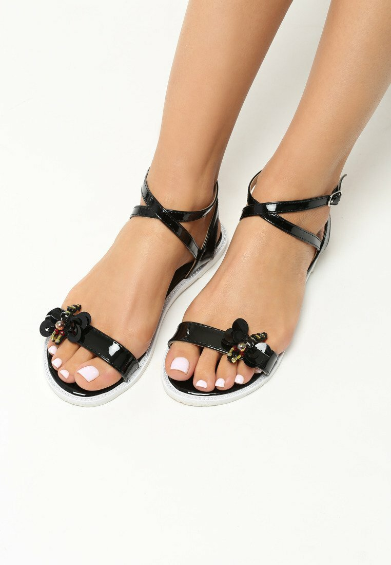 Czarne Sandały Dreaming Of Me