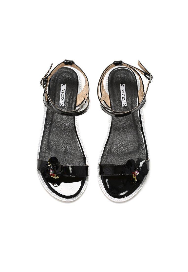 Czarne Sandały Coddiwomple