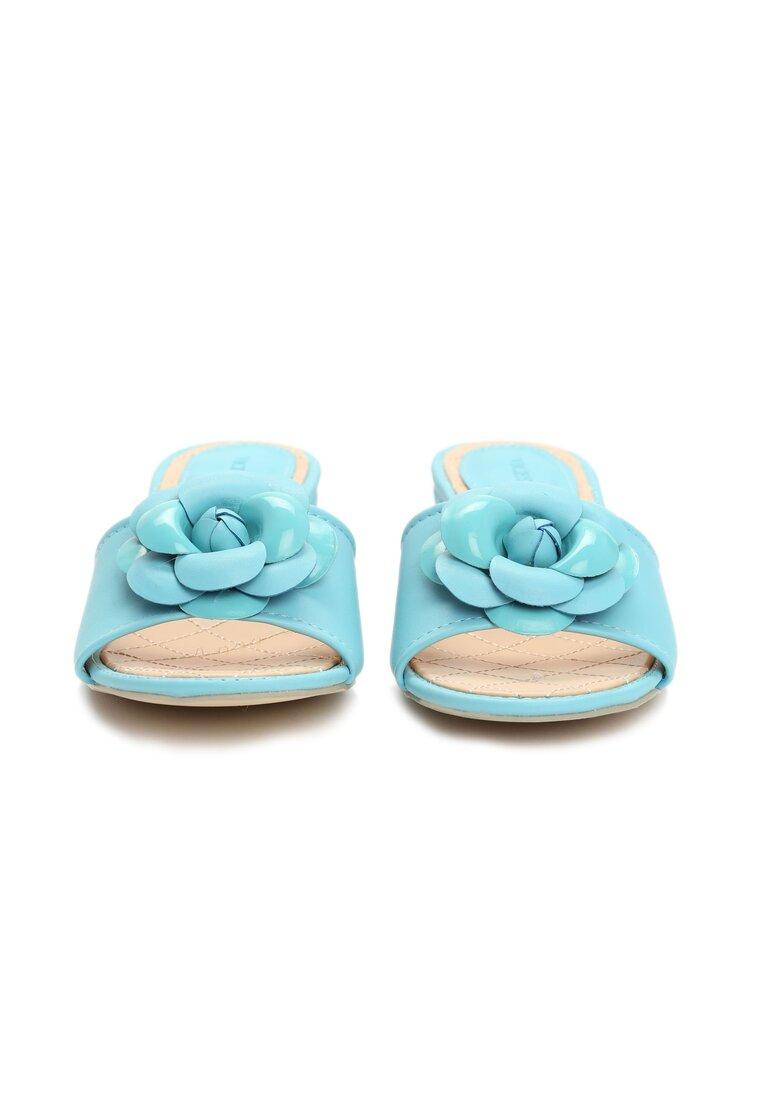 Niebieskie Klapki Flourish