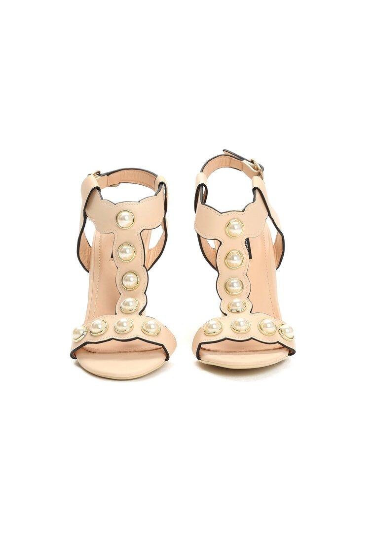 Beżowe Sandały Strange Love