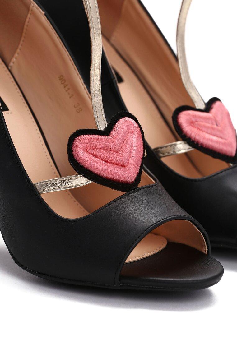 Czarne Sandały Aboriginal