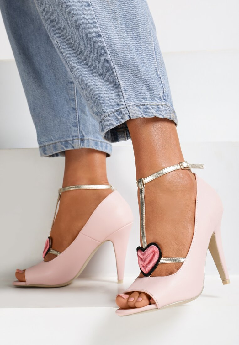 Różowe Sandały Aboriginal