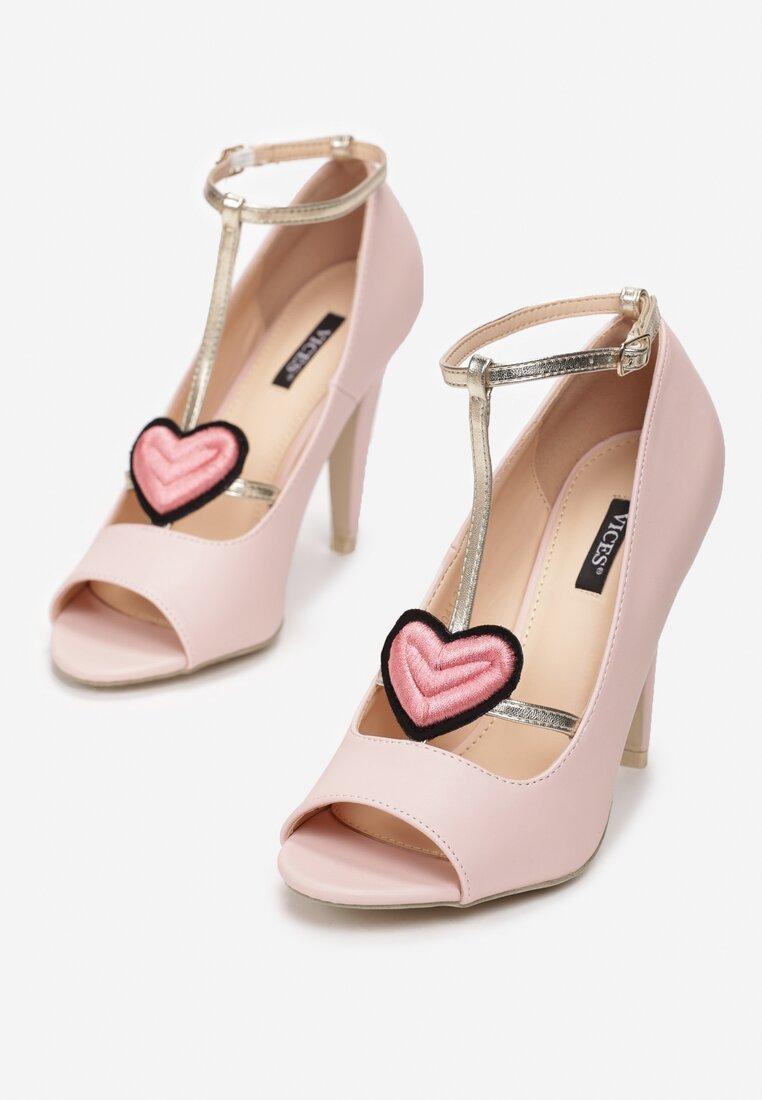 Różowe Sandały Love Story