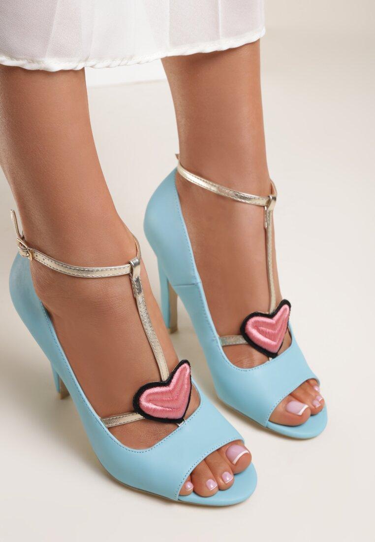 Niebieskie Sandały Love Story