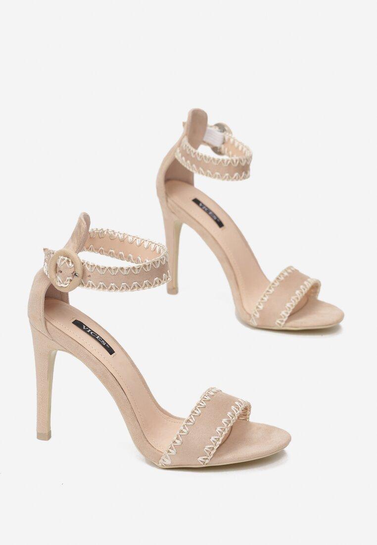 Beżowe Sandały Holy Grail