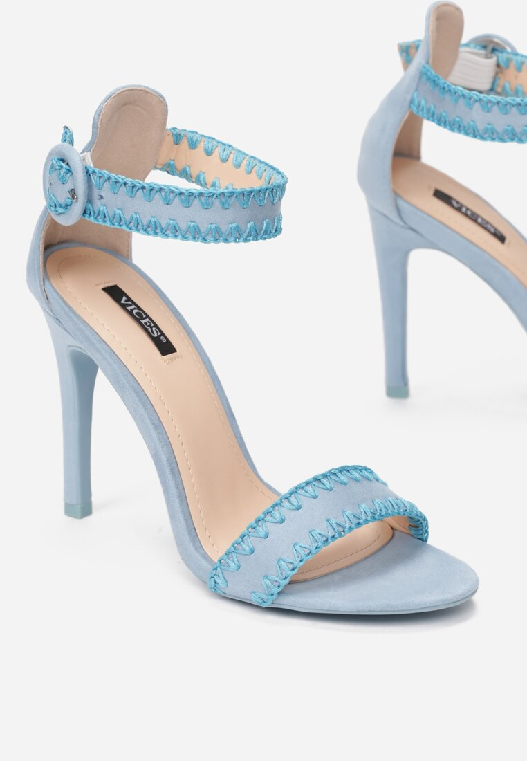 Niebieskie Sandały Holy Grail