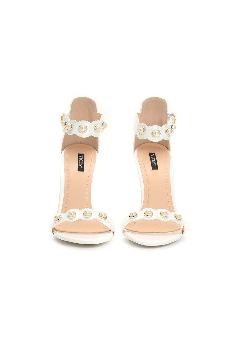 Białe Sandały Gratitude