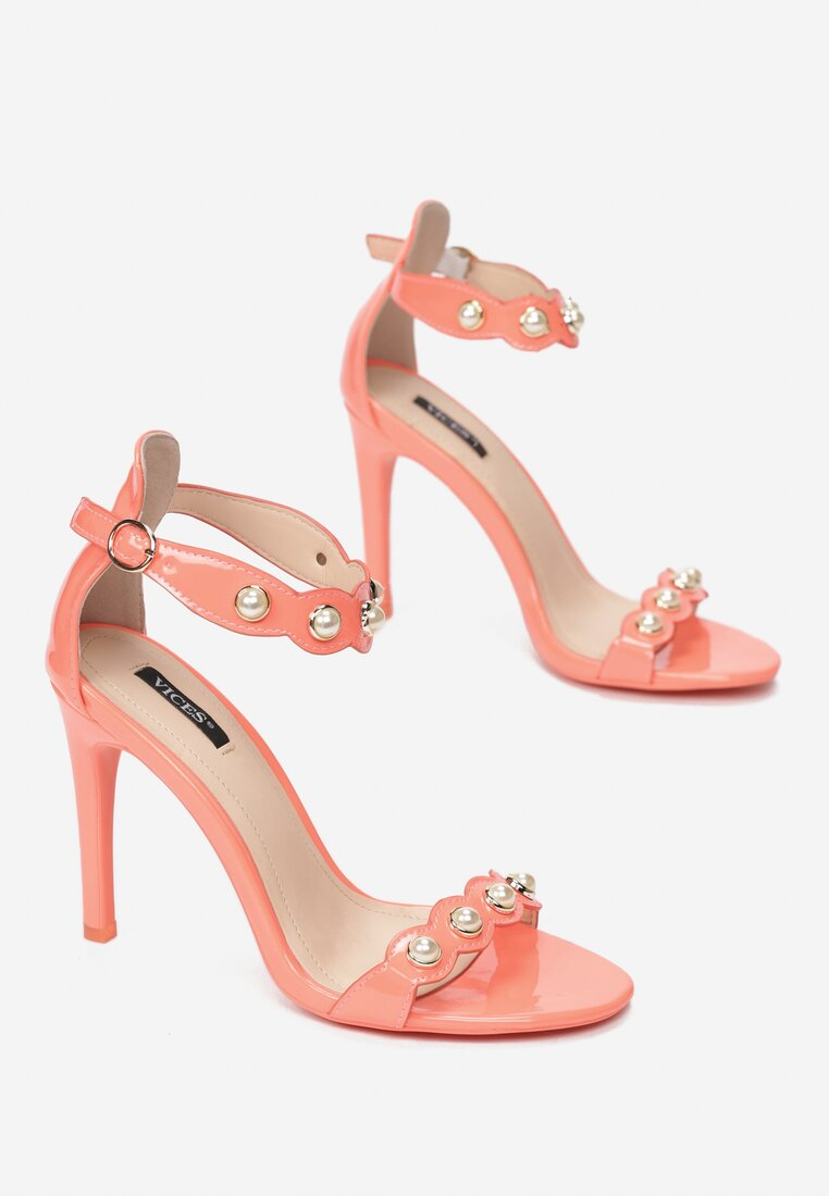 Koralowe Sandały Limerence