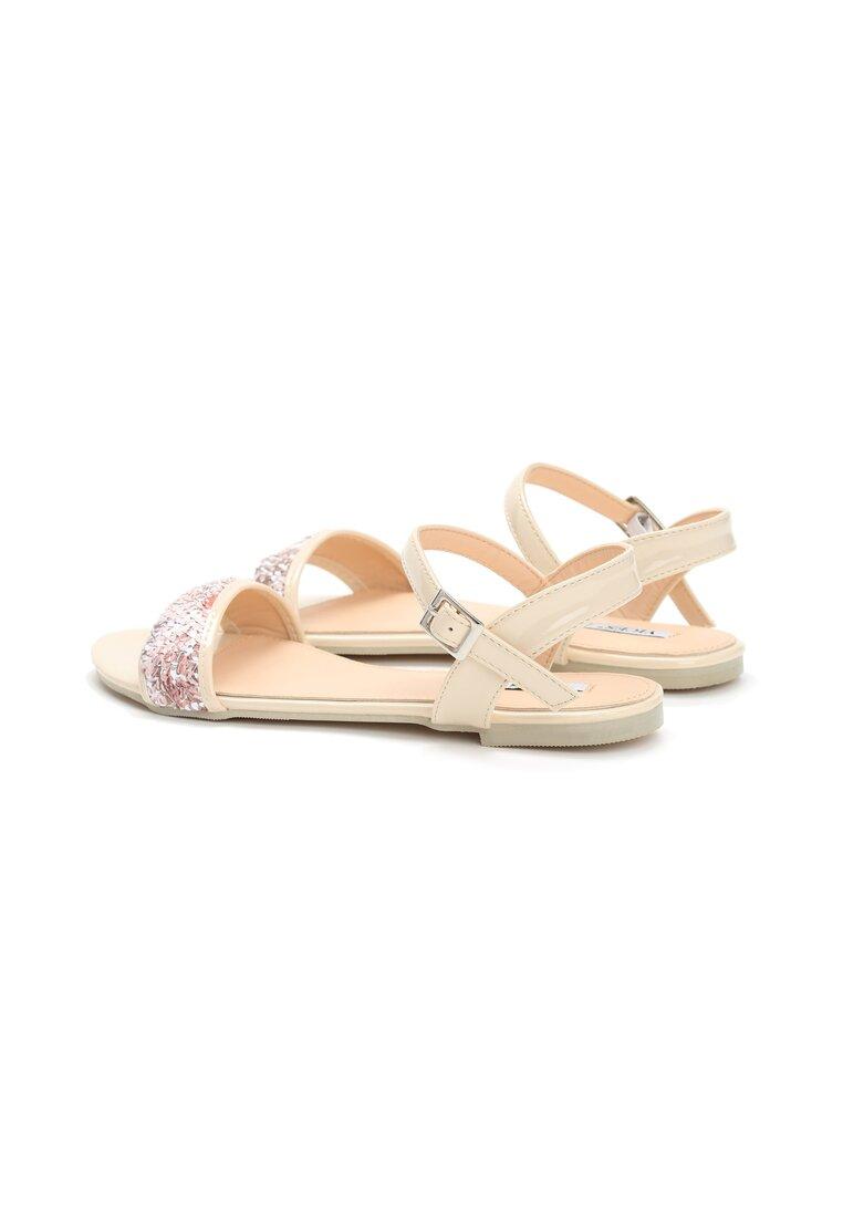 Beżowe Sandały Prism