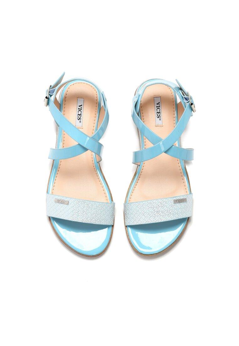 Niebieskie Sandały Ineffable