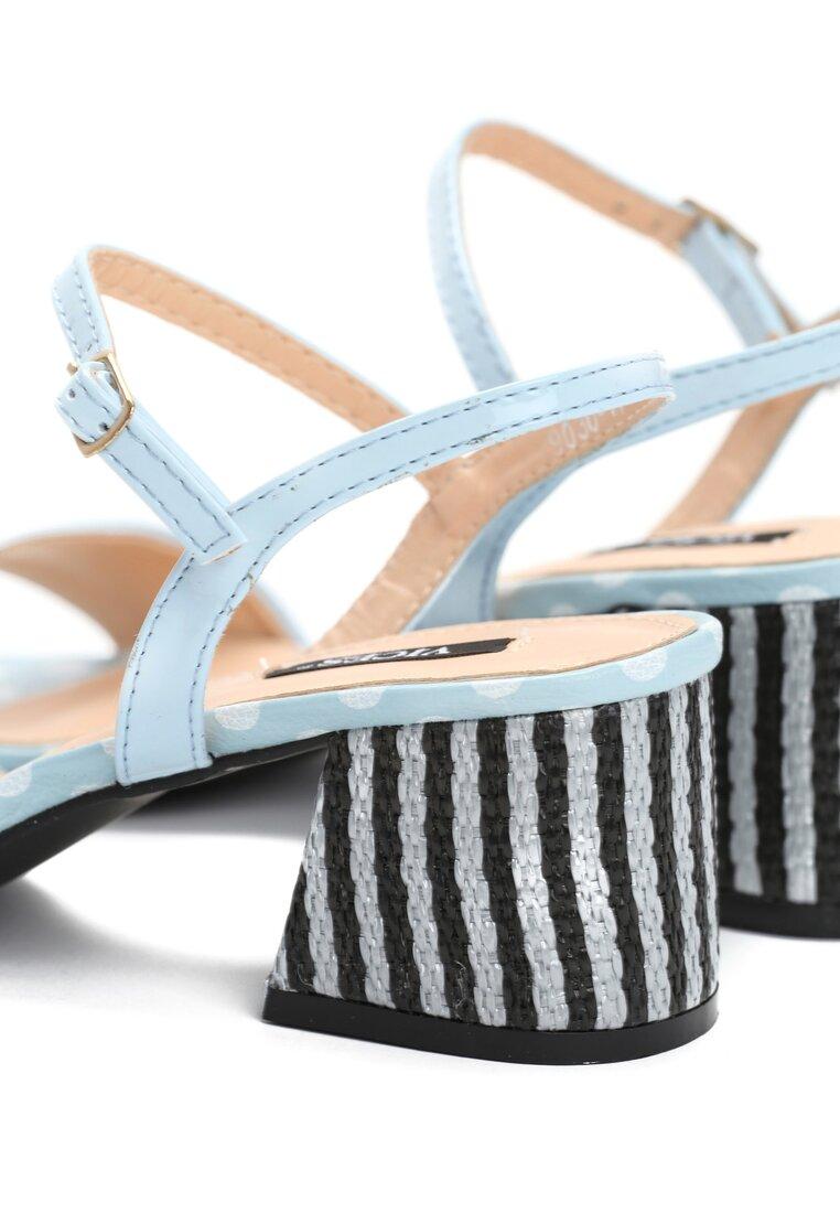 Niebieskie Sandały Circus