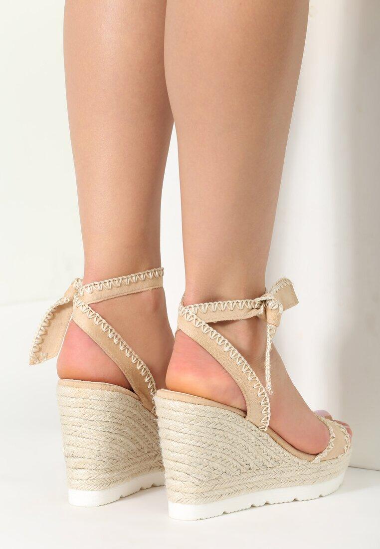 Beżowe Sandały Newcomers