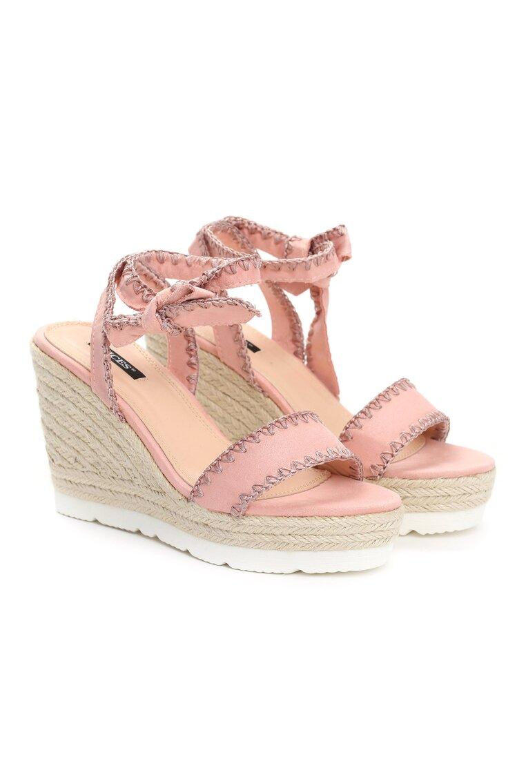 Różowe Sandały Newcomers