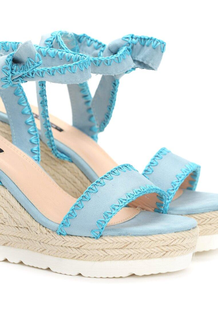 Niebieskie Sandały Newcomers