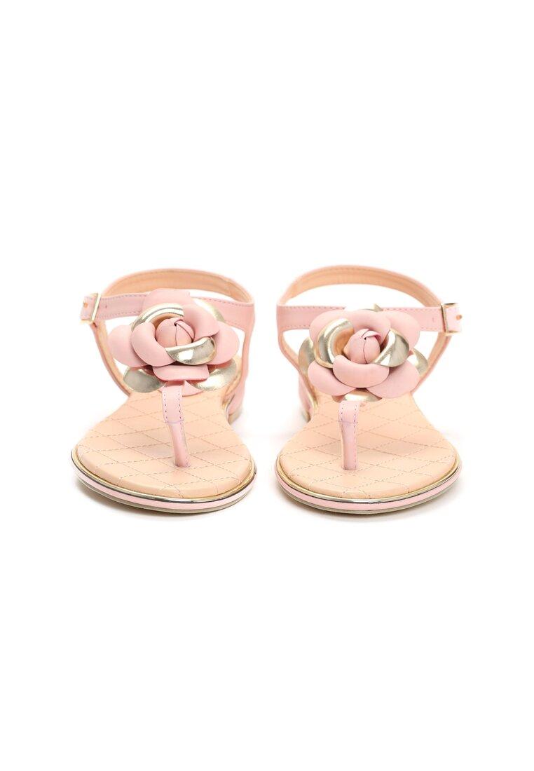 Różowe Sandały Warm Charm