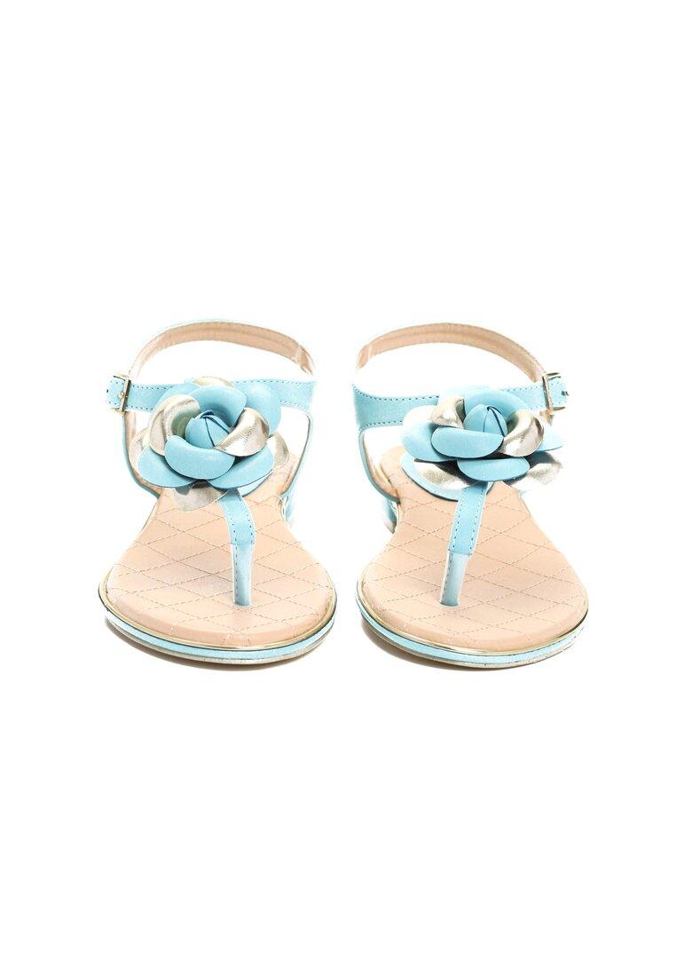 Niebieskie Sandały Blossom