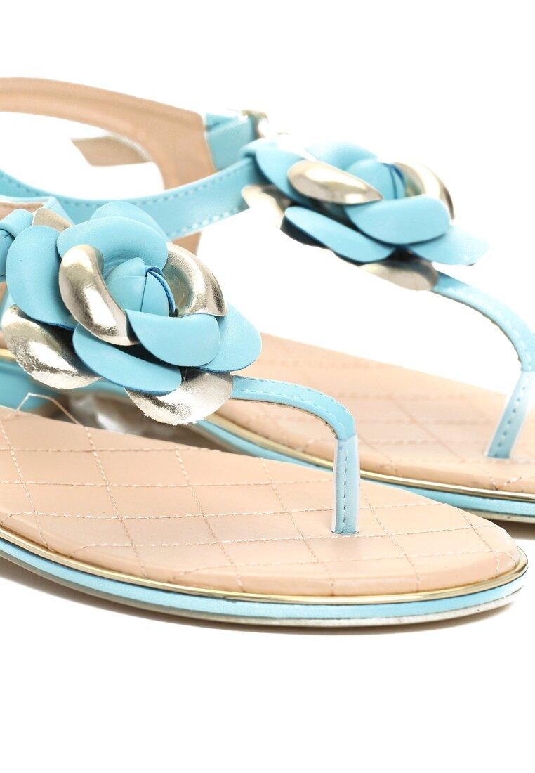 Niebieskie Sandały Warm Charm